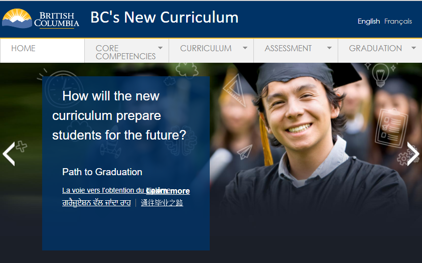 **NEW** BC New Education Grade 10 – 12 Courses