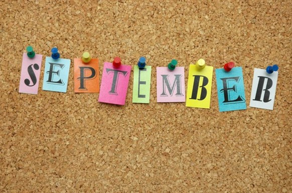 September's Coming – We are Getting Ready