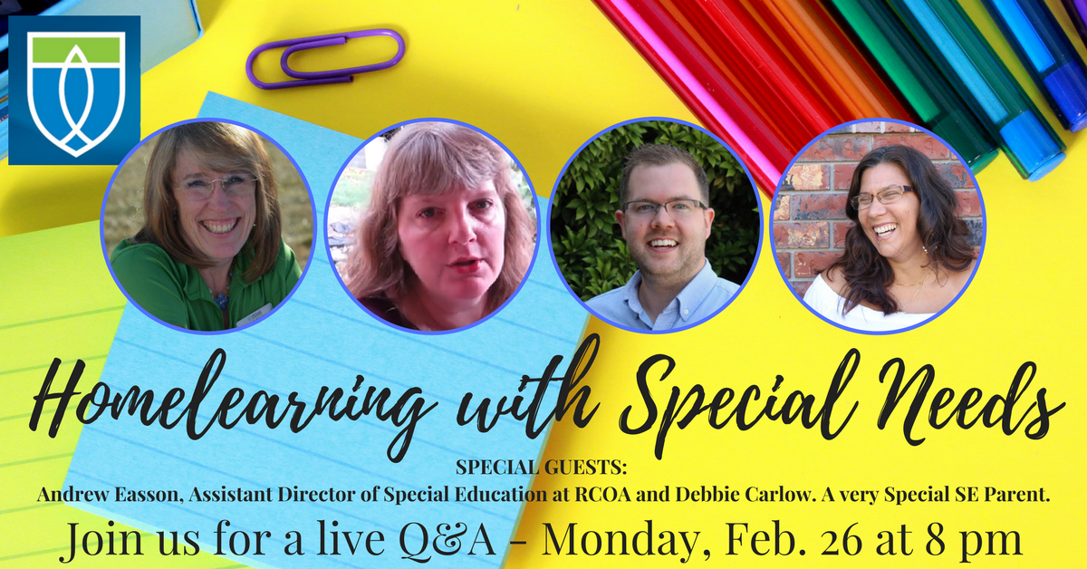 Homelearning with Special Needs