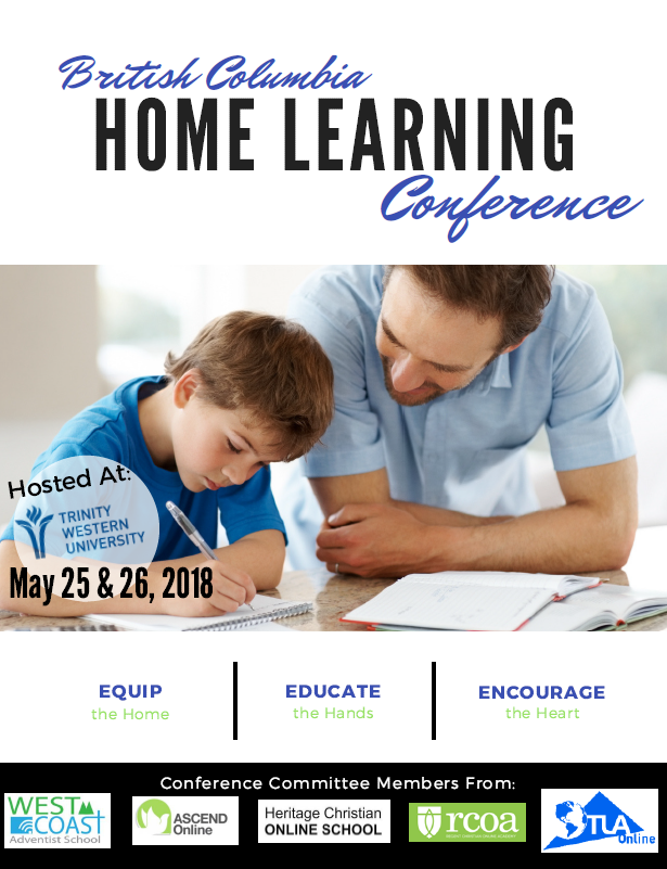 BC Home Learning Conference at TWU – This WEEK