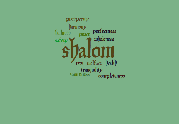 Shalom, the Peace that Passes Understanding