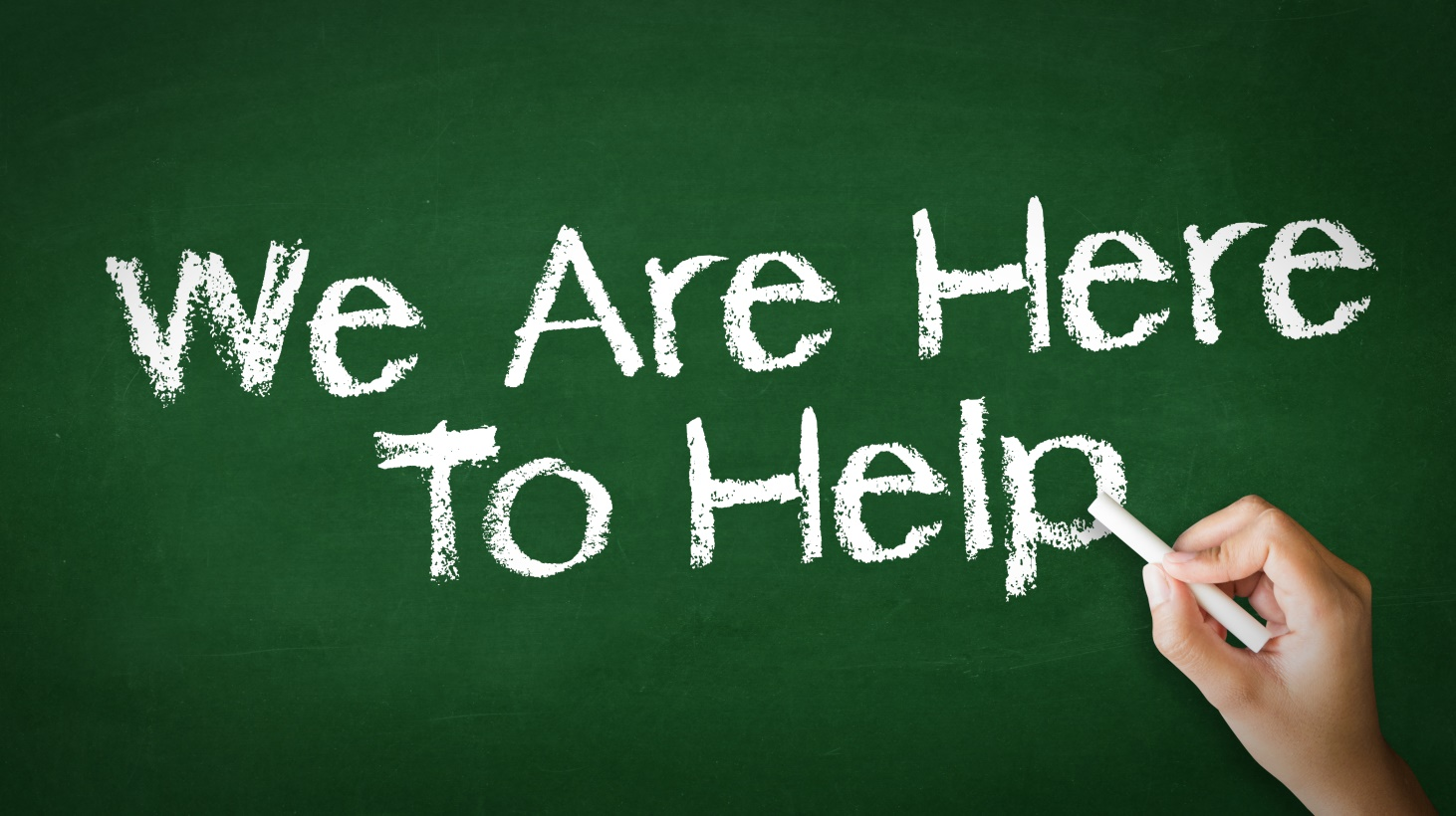 High School Opportunities for Support:  We are here for you!